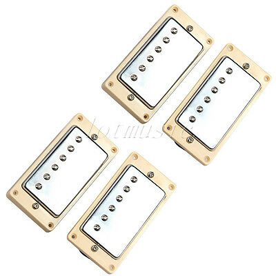 2 Sets Double Coil Humbucker Bridge Neck Pickups For Guitar Guitar Parts