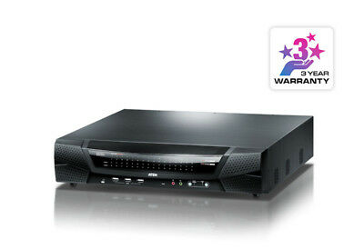 64 Port KVM Over IP, 1 local/8 remote user access. Support 1920x1200, Panel Arra
