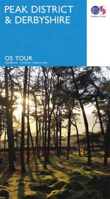 Peak District & Derbyshire (OS Tour Map) by Ordnance Survey.