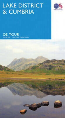 Lake District & Cumbria (OS Tour Map) by Ordnance Survey.