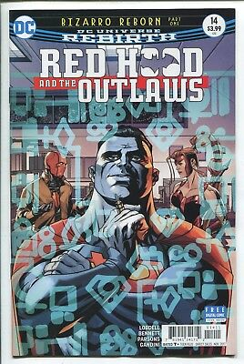 RED HOOD and the OUTLAWS #14 - REBIRTH - MIKE MCKONE REGULAR COVER - DC/2017
