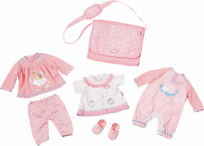 Neu Zapf Creation Baby Annabell® Puppenkleidung Great Value Pack classic 6667190