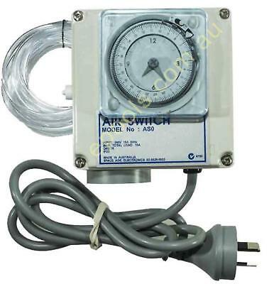 Air Switch Single for Spas and Pools with Timer 15amp