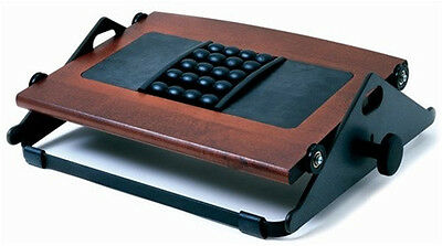 New Humanscale Foot Machine 300B Foot Rest with Massage Balls - Dark Cherry