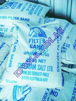Filter Sand 20Kg Bag Kiln Dried 16/30 Graded Unicorn