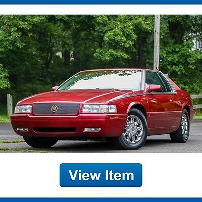 2000 Cadillac Eldorado ETC 2000 Cadillac Eldorado ETC Super Low 16K mi Carriage Top CARFAX Georgia Car!