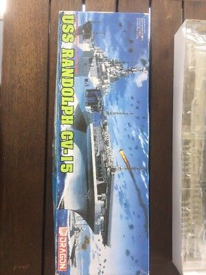 Dragon 1/700 USS Randolph, Cv-15 Model Aircraft Carrier