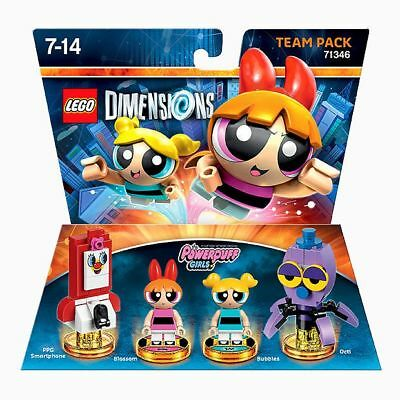 NEW LEGO Dimensions Team Pack - The Powerpuff Girls 71346