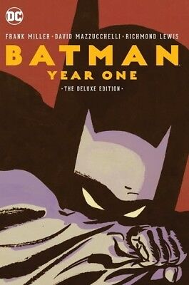 Batman: Year One Deluxe Edition (DC) [New Book] Graphic Novel, Hardcover, Delu