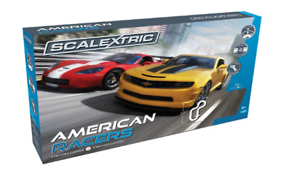 Scalextric American Racers Slot Cat Set SCA-C1364 Brand New