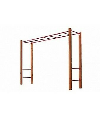 Chappy Monkey Bars with Cypress Posts