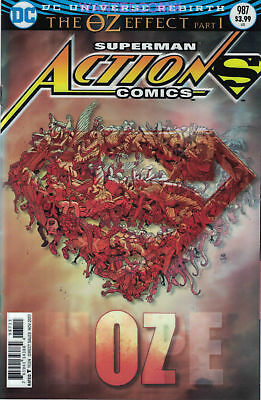 Action Comics #987 Lenticular Cover The Oz Effect Pat 1 DC First Print NM Hot!