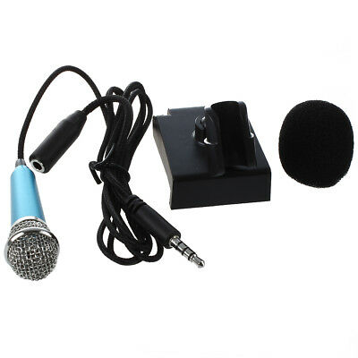 Mini hand microphone for voice recording, Internet chat on smartphone J5T2