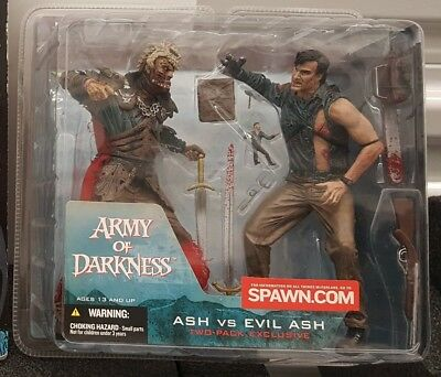 """Neca Army of Darkness - Ash vs Evil Ash Exclusive 2 Pack of 7"""" Figures"""