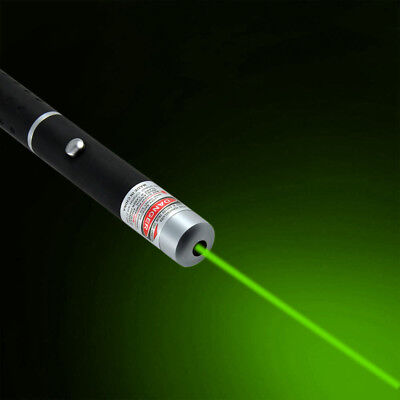650nm LED Laser Pointer Stift Grün Sichtbaren Unterricht PPT-Präsentation Strahl