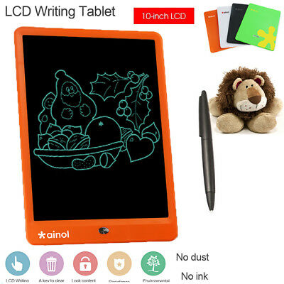 10 inch Electronic LCD Tablet Writing Drawing Memo Message Boogie Board Notepad