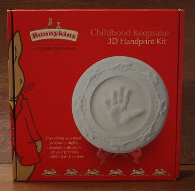 New in box  Bunnykins 3D handprint kit