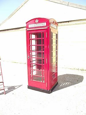 K6 Telephone Box - Red telephone box Museum Grade Refubished !!!