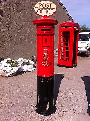 Royal Mail Edward VII (ER-VII)  Post Box - Pillar Box   Fully Re-furbished