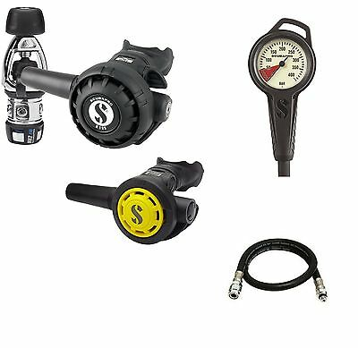 Scubapro MK2EVO R195 R095 Octopus Yoke Set Regulator with Free Jacket Hose - AU