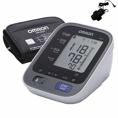 Omron M6 AC LED Upper Arm Automatic Blood Pressure Monitor With AC Adaptor