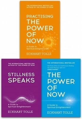 Eckhart Tolle The Power of Now Collection 3 Books Set The Power of Now, Still...