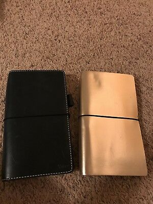 Chic Sparrow Travelers Notebook TN Mr. Darcy Deluxe And rose gold Tn - standard