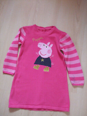 M & S Peppa Pig Cotton Jumper  Dress     Age 3 - 4 Years