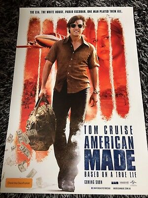 AMERICAN MADE One Sheet Movie Poster