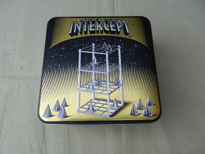 INTERCEPT 3D Strategy BOARD GAME 2006