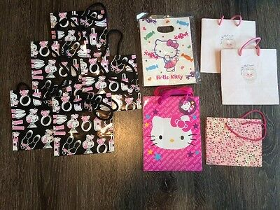 Hello Kitty Gift Bag Various Lot of 18 NWT From Japan RARE Collector