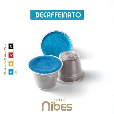 300 Nespresso compatible coffee capsules pods decaffeinated Nibes