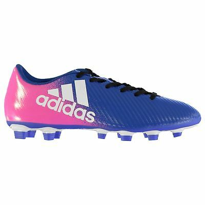adidas X 16.4 FG Firm Ground Football Boots Mens Blu/Wht/Pnk Soccer Cleats Shoes