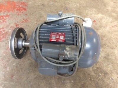 Clarke Electric Motors Single Phase 1420 Rpm, Little Used , Very Good Condition
