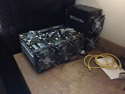 Antminer S3 450 to 500 Gh/s with PSU