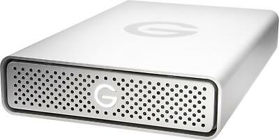 G-Technology - G-Tech G-DRIVE 4TB External USB Type C Hard Drive - Silver