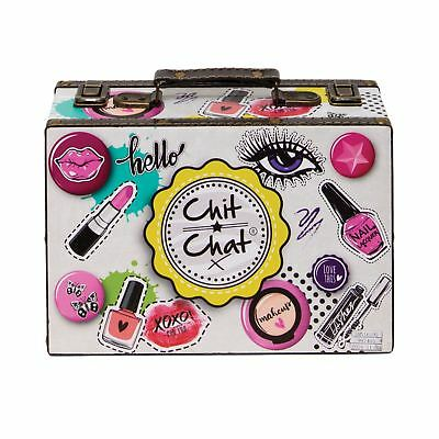 Chit Chat 48 Piece Make Up Set Case Cosmetic Vanity Beauty Gift Set