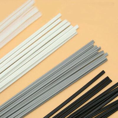 40X Plastic Welding Sticks Rods Welder Electrode ABS/PP/PVC/PE 500x5x2mm 4 Color