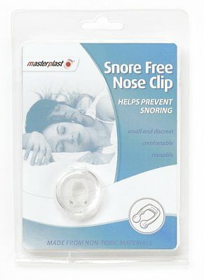 Anti Snoring Masterplast Snore Free Nose Clip Reusable Non Toxic Sleeping Aid