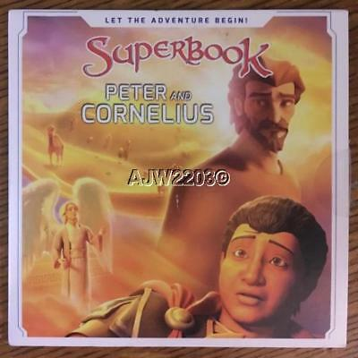 SUPERBOOK: Peter and Cornelius CBN DVD, 2017 FREE SHIPPING Cardboard Sleeve NEW