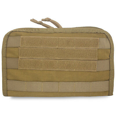 Bulldog MOLLE Military Army Commander Admin Panel Pouch Map Case Cover Coyote