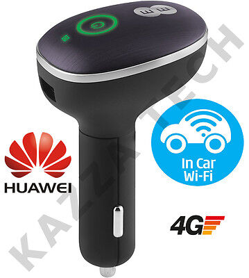 HUAWEI E8377 CarFi In-Car LTE 4G 3G Mobile WIFI Wireless Modem SimFree Caravan