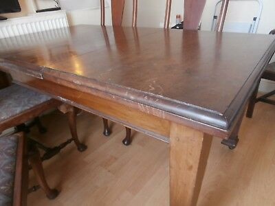 Edwardian Mahogany Dining Table and Chairs /Shabby Chic Project ?