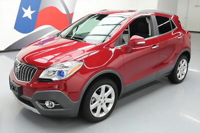2015 Buick Encore Leather Sport Utility 4-Door 2015 BUICK ENCORE LEATHER AWD SUNROOF NAV REAR CAM 27K #215659 Texas Direct Auto