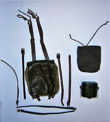 DID Alert Line 1/6th Scale WW2 Russian Infantry M36 Backpack & Mess Tin - 015