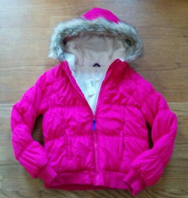 NEW The Children's Place  * 10-12 *  pink puffer jacket coat  Fall Winter  NWT