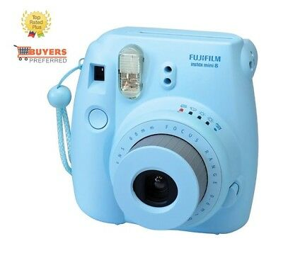 Film Instax Blue Mini Fujifilm 8 Instant Camera Fuji Photo New Polaroid Picture