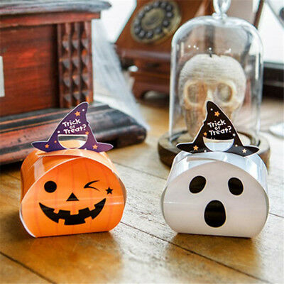 5 Pcs MINI Paper Bag Gift Bag Candy Box New Style Halloween Party Supplies