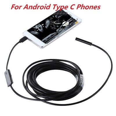 1M/3M Endoscope Waterproof Inspection Camera for Samsung Galaxy S8 A7 A5 A3 2017