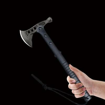 Axe Tomahawk Hatchet Hammer Camping Survival Tactical Army Military Combat Gear